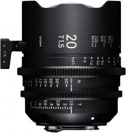 SIGMA 20 mm T1,5 FF FL EF-mount